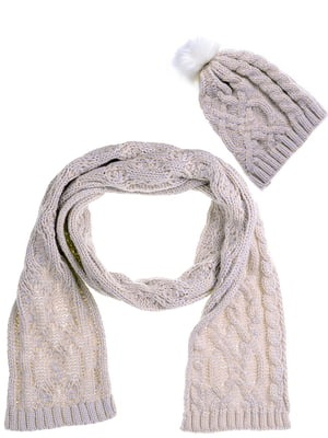 Комплект: шапка і шарф | 5217908