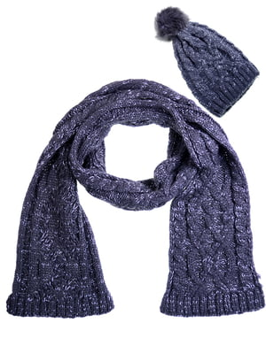 Комплект: шапка и шарф | 5217909