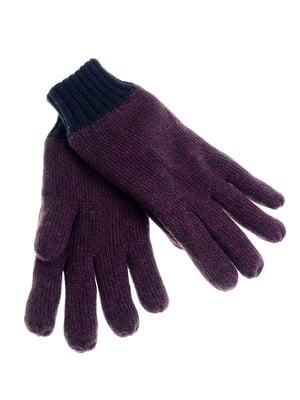 Перчатки бордовые | 5217932