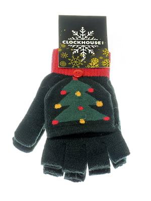 Перчатки черные | 5217940