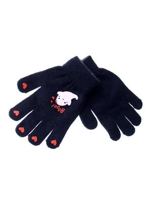 Перчатки черные | 5217943