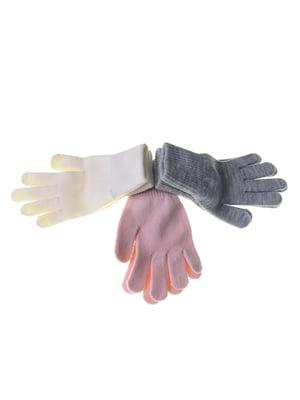 Набір рукавичок (3 пари) | 5217949