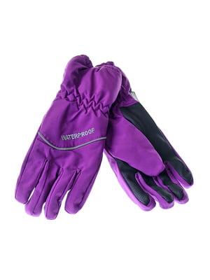 Рукавички фіолетові | 5217951