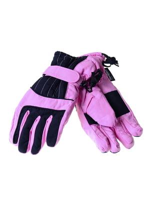 Рукавички світло-рожеві | 5217955