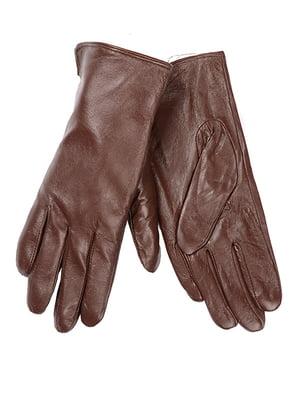 Рукавиці темно-коричневі | 5218028