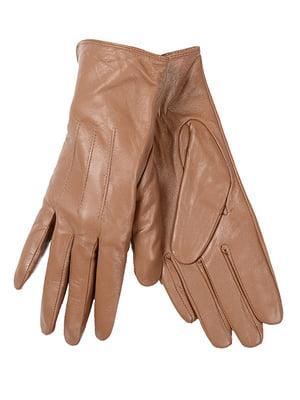 Рукавиці коричневі | 5218033