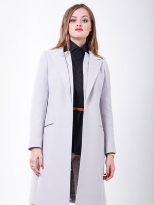 Пальто перлового кольору | 5218969