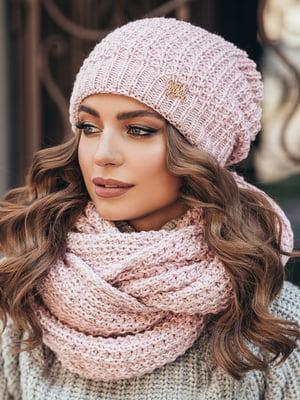Комплект: шапка и шарф-снуд | 5213590