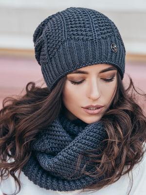 Комплект: шапка и шарф-снуд | 5213599