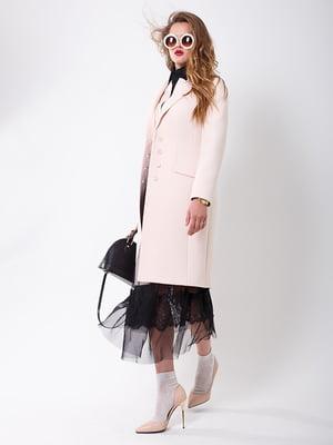 Пальто молочного кольору | 5218971