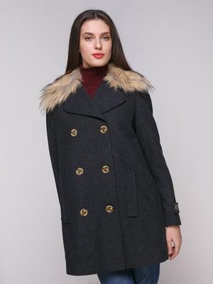 Пальто сіре | 5174797