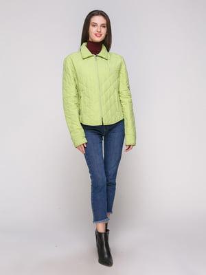 Куртка салатового кольору | 4878559