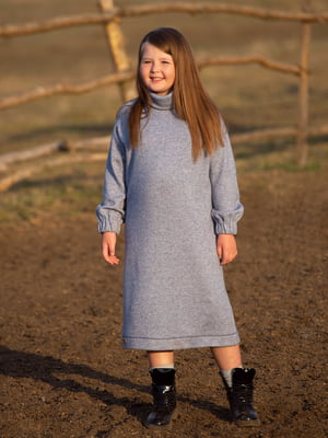 Платье серое | 5219109