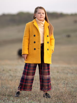Пальто жовте | 5219113