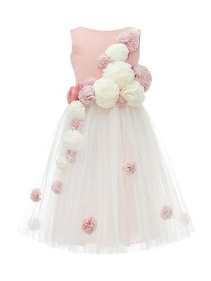 Сукня кольору пудри | 4222919