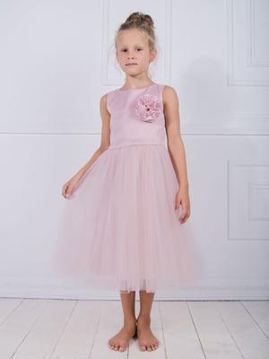 Сукня пудрового кольору | 4897835