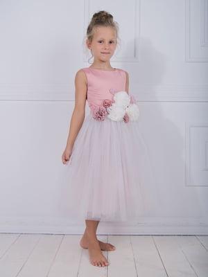 Сукня пудрового кольору | 4897837