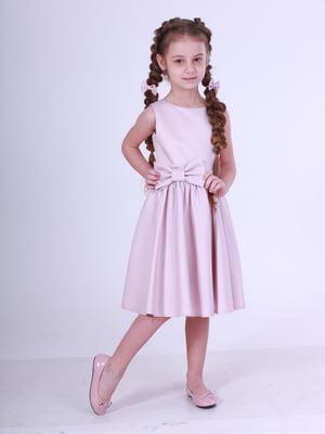 Сукня кольору пудри | 5219263