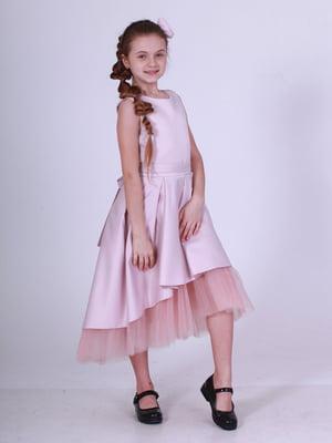 Сукня кольору пудри | 5219265