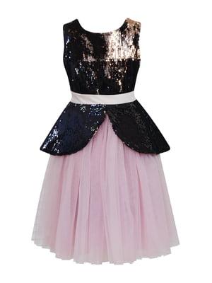 Сукня кольору пудри | 5219268
