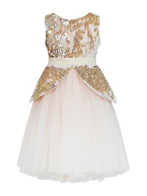 Сукня золотистого кольору | 5219269