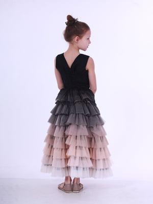 Сукня чорно-нюдова | 5219270
