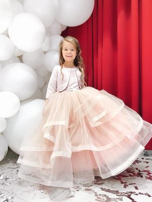 Сукня кольору пудри | 5219277