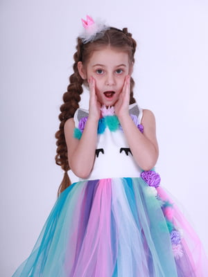 Сукня різнокольорова | 5219278