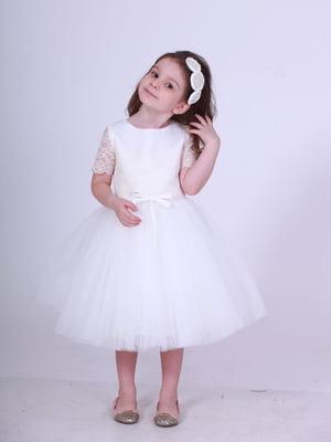 Платье молочного цвета | 5219279