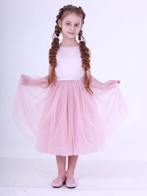 Сукня кольору пудри | 5219282