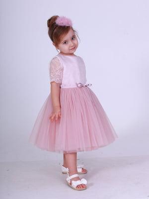 Сукня кольору пудри | 5219285