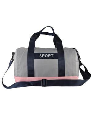 Сумка спортивна двоколірна | 5219456