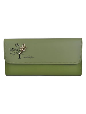 Кошелек оливкового цвета | 5219581