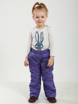 Термобрюки фиолетовые | 5220825