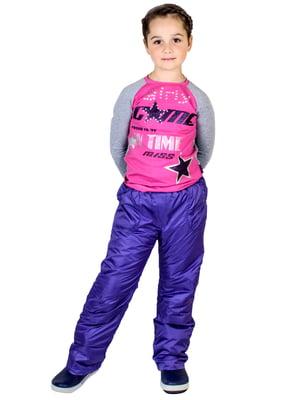 Термобрюки фиолетовые | 5220829
