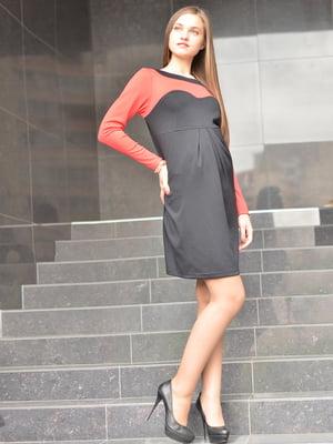 Сукня чорно-червона | 1773407