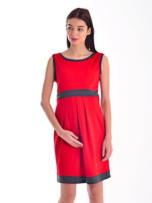 Платье винного цвета | 4031632