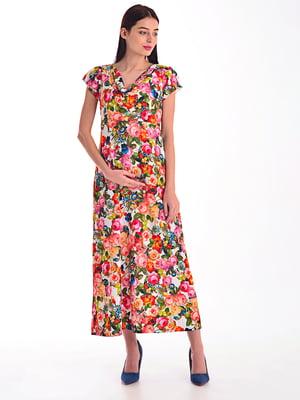 Сукня в квітковий принт | 4031633