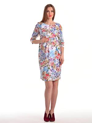 Платье в цветочный принт | 4179259