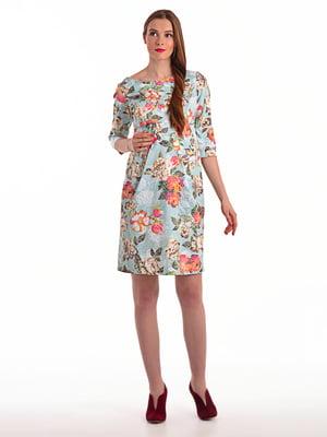Сукня в квітковий принт | 4179261