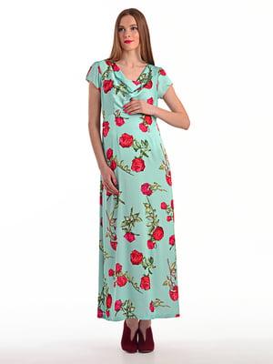 Сукня в квітковий принт | 4179263