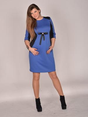 Сукня синьо-чорна | 4860254