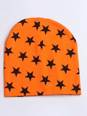 Шапка оранжевая   4678762