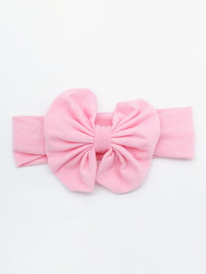 Пов'язка на голову рожева | 4679012