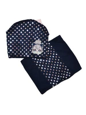 Комплект: шапка і шарф-снуд   5223306