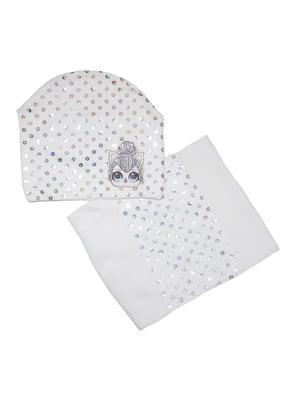 Комплект: шапка і шарф-снуд   5223307