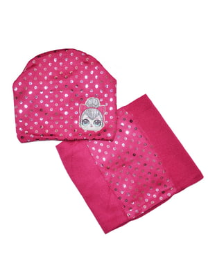 Комплект: шапка і шарф-снуд   5223309