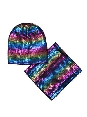 Комплект: шапка и шарф-снуд   5223320