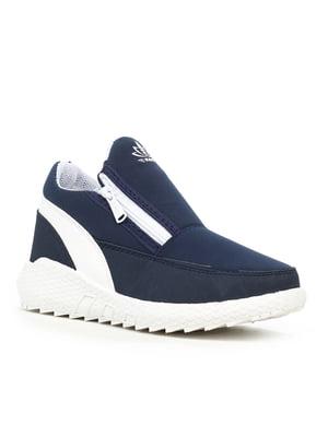 Ботинки синие | 5219127