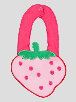 Слюнявчик розовый | 5220957
